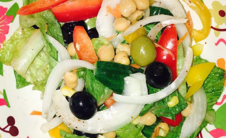 Fattoush - Arabic Salad Recipe