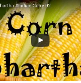 Corn Bharta Recipe