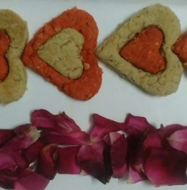 Oats Rose Cookies Recipe