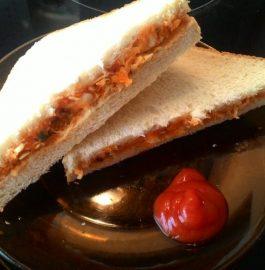 Raw Veggie Sandwiches