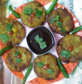 Mixed Vegetable Corns Cutlets - Tasty Bite