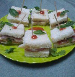 Raw Bread Sandwich - Instant Recipe