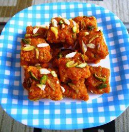 Carrot Barfi - Delicious Dessert
