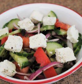 Greek Salad - Tasty & Quick Recipe