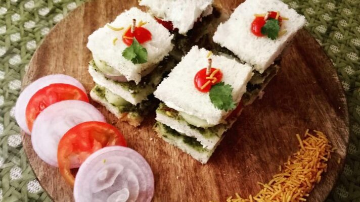 bombay veg sandwich recipe