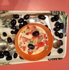 Fruit Cream - Yummy Dessert