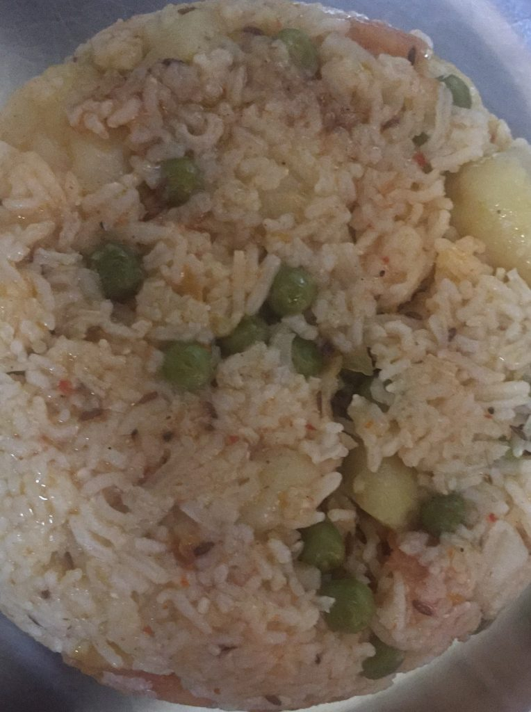 Pulao (No Onion/No Garlic) - Tasty Meal