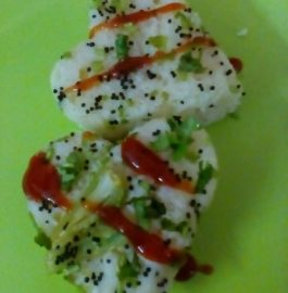 Sooji Dhokla in Microwave - Instant Recipe