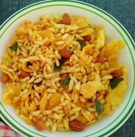 Puffed Rice and Cornflakes Chivda - Crispy and Quick!