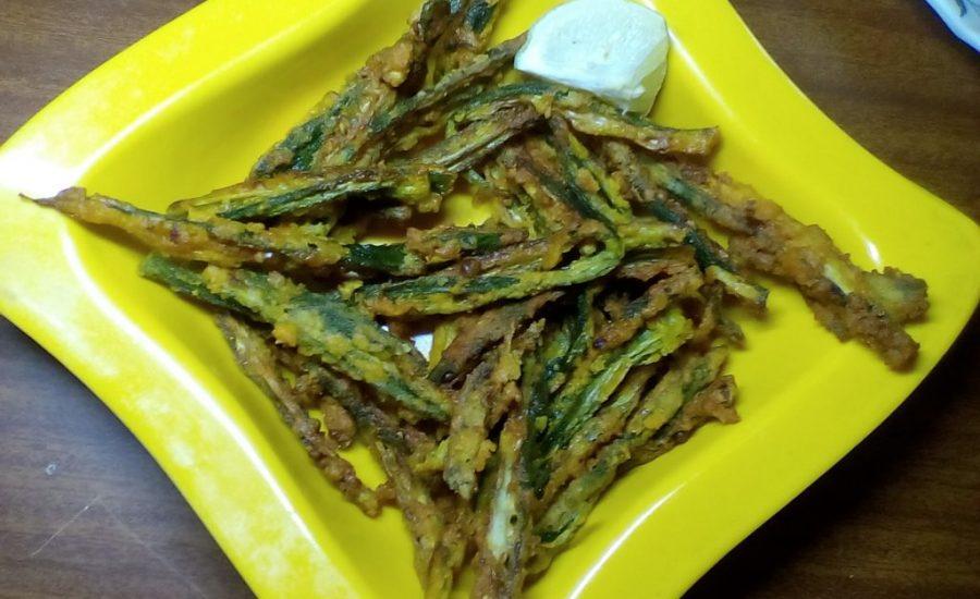 Kurkuri Bhindi/ Okra - Tasty Curry