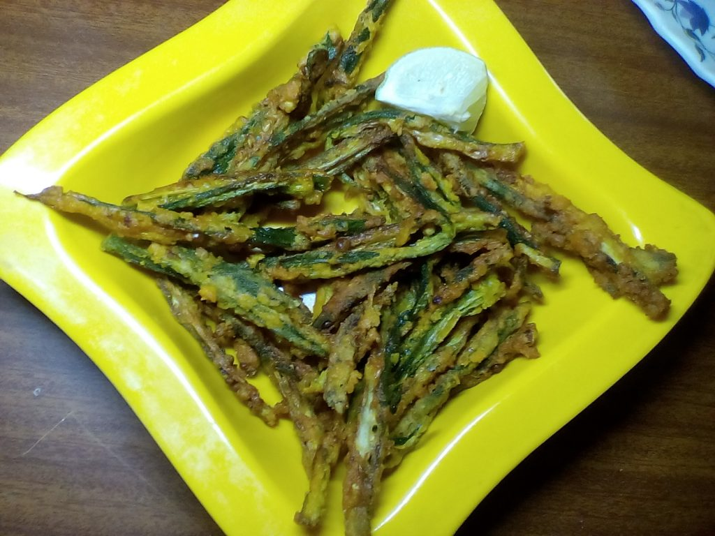 Kurkuri Bhindi/ Okra - Tasty Curry