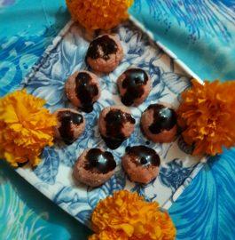 Chocolate Sandesh - Delicious Bite