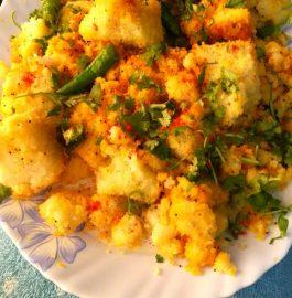 Khatta Dhokla - Delicious snack!