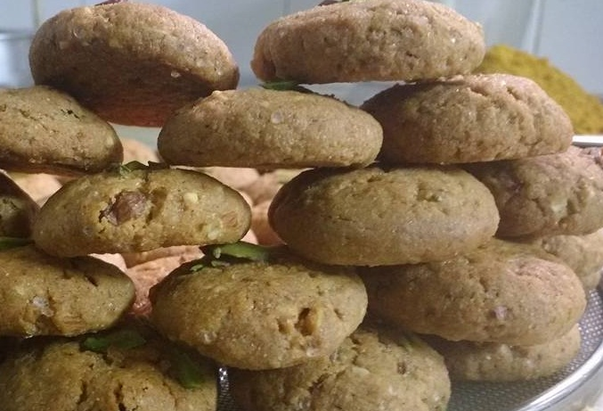 Mixed Dry Fruits Cookies - Kids Special!
