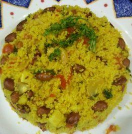 Samak Pulav - Healthy Tiffin Recipe!