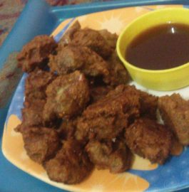 Singhara Pakodi - Crispy Fried Snack!