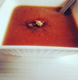 Jaggery and Wheat Flour Lapta - Tasty Soup