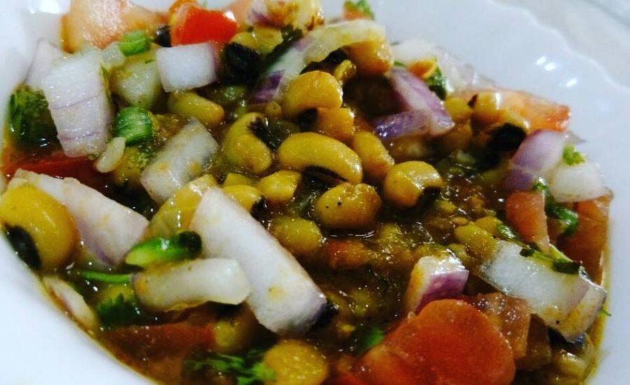 Soya Bean Chaat Recipe