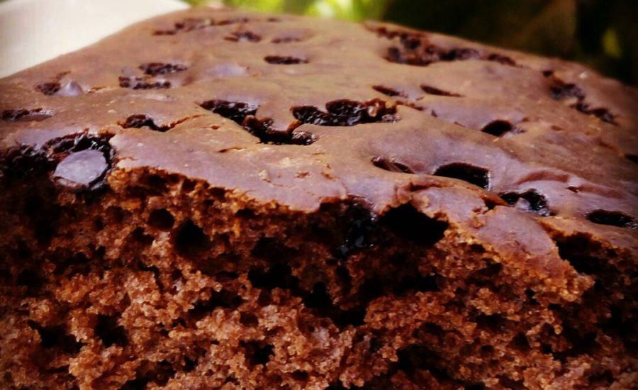Eggless Chocolate Cake (Butter Free) Recipe