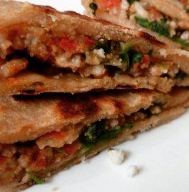 Leftover Kheel Paratha - Quick Breakfast
