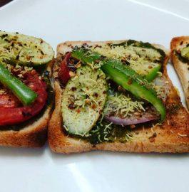 Vegetable Garlic Bread Recipe