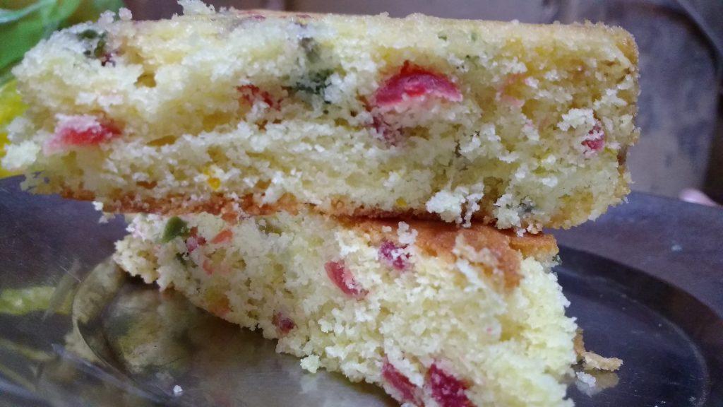 Pineapple Tutti Frutti Cake Recipe