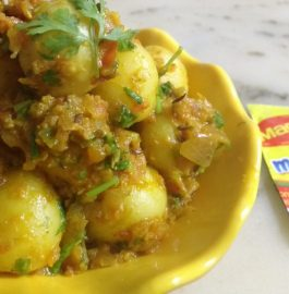 Maggie Masala Baby Potatoes - Yummy!
