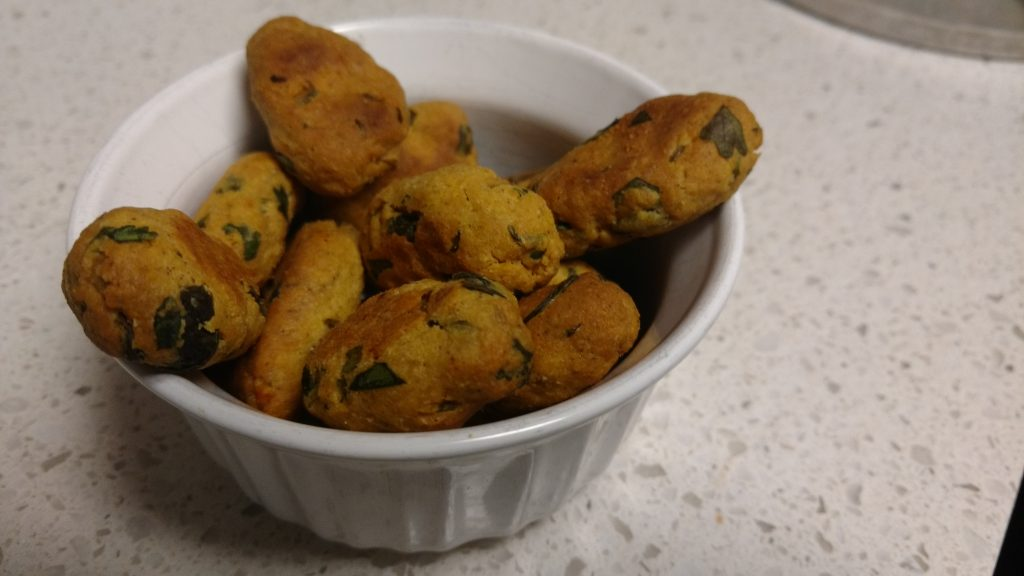 Baked Methi Muthiya - Oil Free Snacks