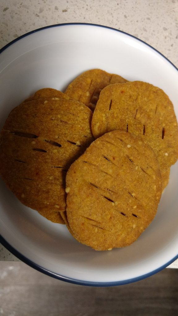 Baked Masala Puri - Oil Free Recipe