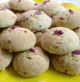 Homemade Cookies - Rose Flavored!