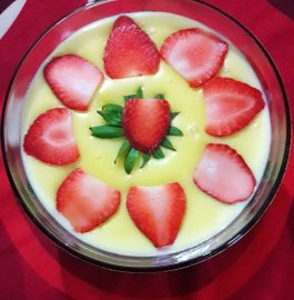 Fruit Custard - Delicious and Healthy!!