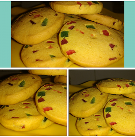 Tutti-Frutti Custard Cookies - Easy Recipe!