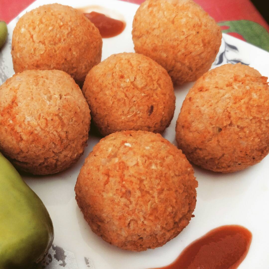 Leftover Rice Balls Recipe
