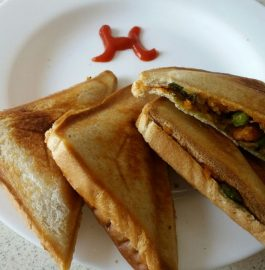 Leftover Poha Sandwiches - Instant Snacks