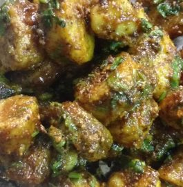 Besan Wali Arbi Curry Recipe