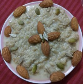 Brinjal Kheer - Unique Dessert Recipe