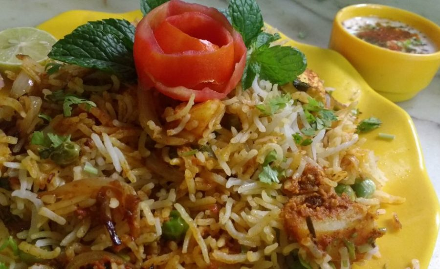 Hyderabadi Veg Biryani - Spicy Treat