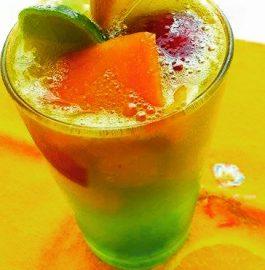 Mixed Fruits With Lemon – Yummy Mocktail