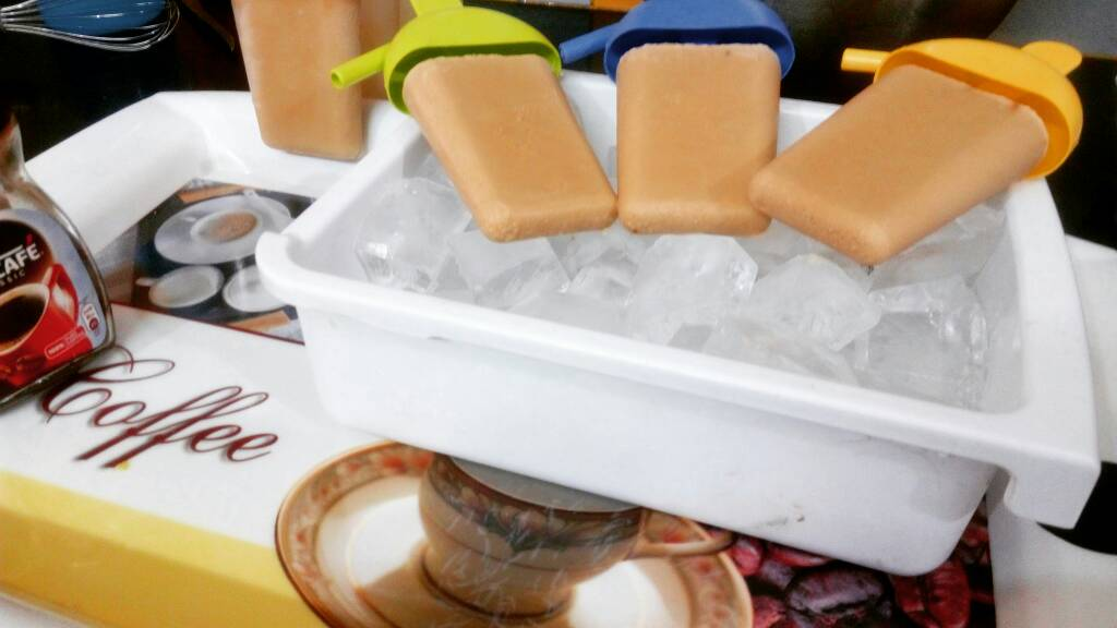 Iced Coffee Popsicles Recipe