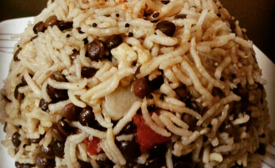 Whole Masoor Pulav Recipe