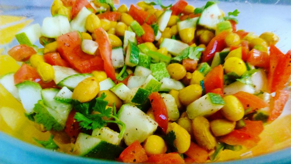 Masala Peanut Salad Recipe