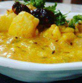 Dahi Vale Aloo Recipe
