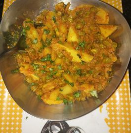 Hariyali Chhole Aloo Curry Recipe