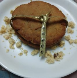 Mawa Stuffed Thekua - Sweet Snack in Bihar