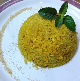 Moong Dal Rice Ramdana - Healthy Khichdi