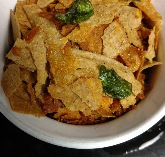 Leftover Roti Chivda - Quick Snack