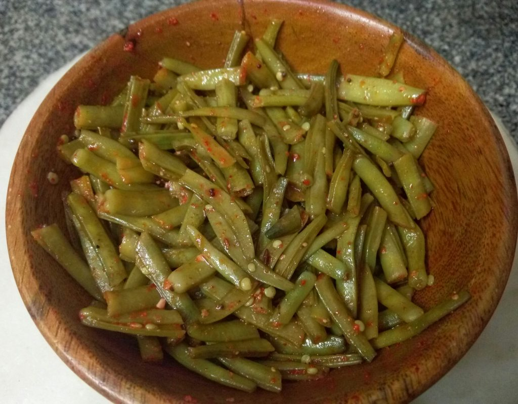 Smoked Cluster Beans/ Guar - Oil Free Curry