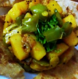 Capsicum Potato Dry Curry Recipe