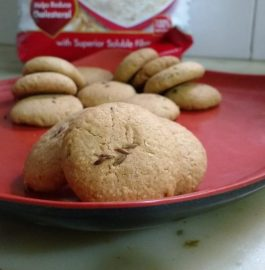 Oats Butter Cookies Recipe