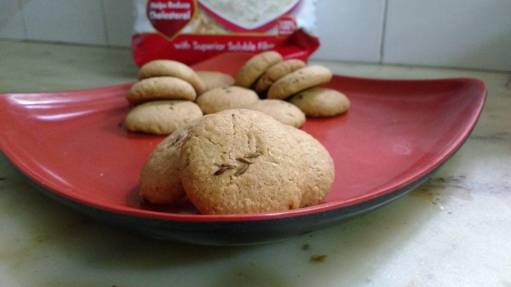 Oats Butter Cookies Recipe